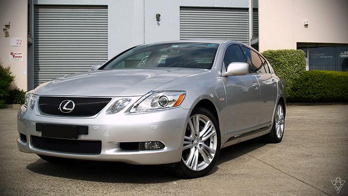 Detailed: 2006 Lexus GS450h S190 [Mercury Metallic ...