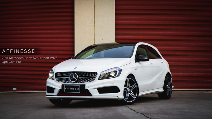 Detailed 2014 Mercedes Benz A250 Sport W176 Cirrus White